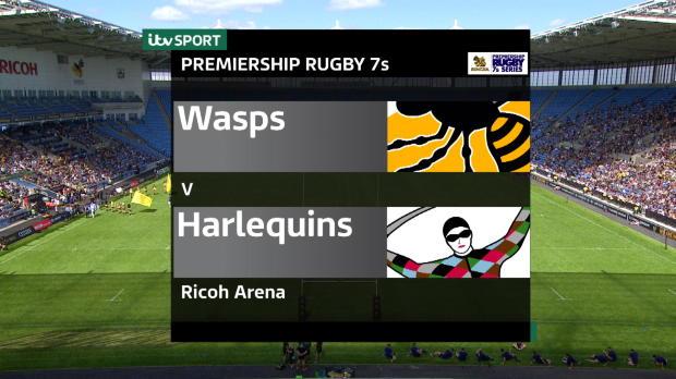 Aviva Premiership - Singha Rugby 7s - Wasps v Harlequins
