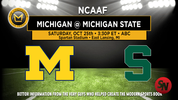 Michigan Wolverines @ Michigan State Spartans
