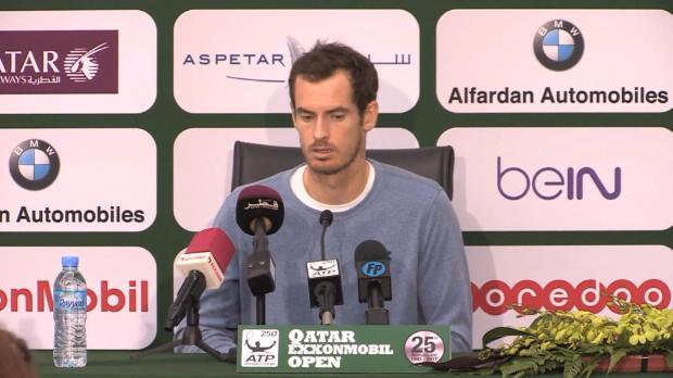 Doha: Enttäuschter Murray will sich verbessern