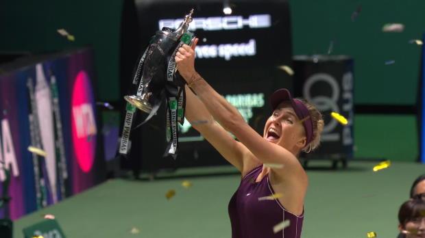 Masters - Svitolina s'impose en finale
