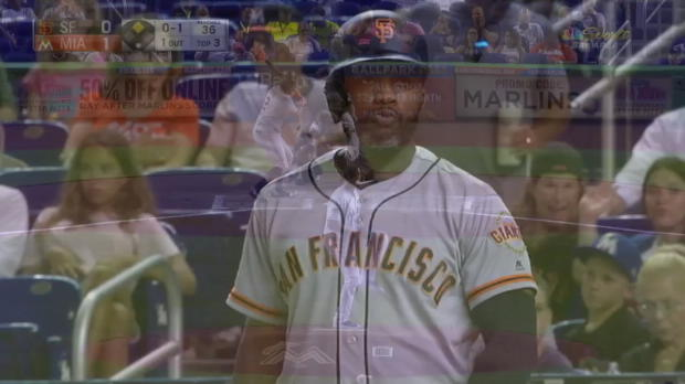 Marlins vs. Giants: Stanton does it again!