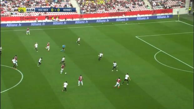 Ligue 1: Nizza - Rennes   DAZN Highlights
