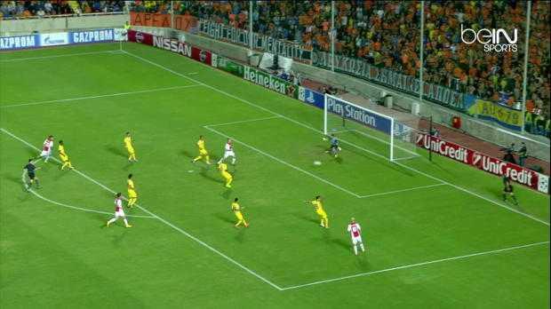 LdC : APOEL Nicosie 1-1 Ajax