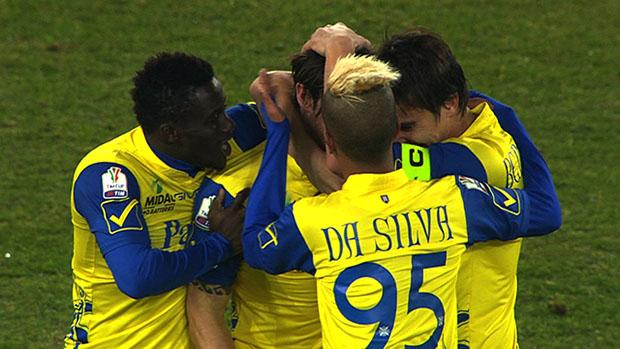 Chievo 4-1 Reggina, Quarto Turno TIM Cup 2013/14