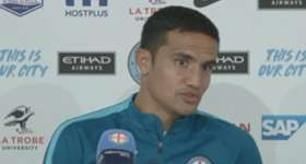 Melbourne City star Tim Cahill described Sunday's 5-4 loss to Perth Glory like playing the FIFA video game.