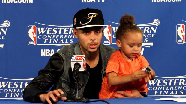 Warriors - La fille de Curry refait son show !
