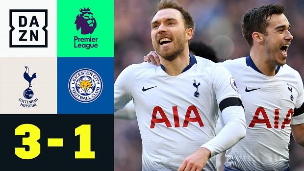 Premier League: Tottenham - Leicester | DAZN Highlights