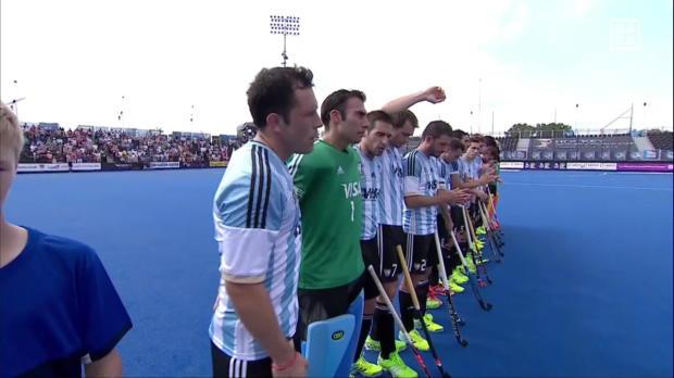 Hockey: England - Argentinien