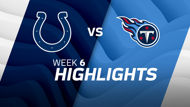 Colts vs. Titans highlights | Week 6