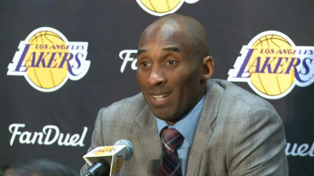 Basket : NBA - Retraite - Kobe Bryant en paix avec sa décision