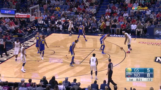 WSC: Klay Thompson (22 points) Highlights vs. New Orleans Pelicans
