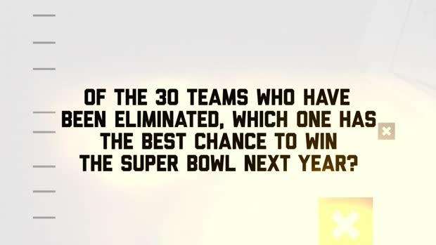 Which team has best chance of winning Super Bowl next season?