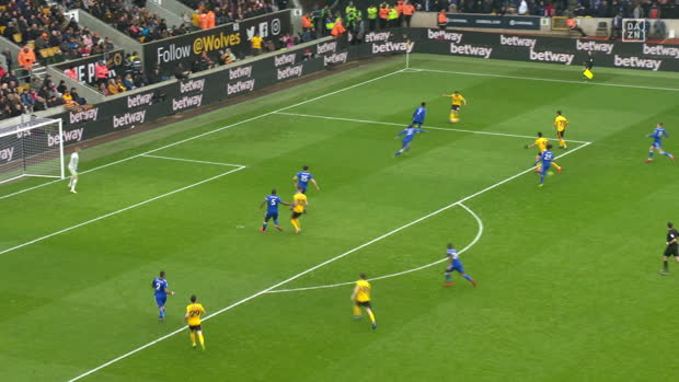 Premier League: Wolverhampton - Leicester | DAZN Highlights
