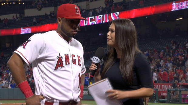 Valbuena on his 2-homer game