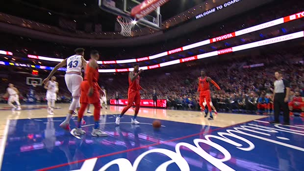 Assist of the Night : Ben Simmons