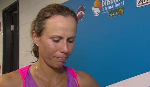 Lepchenko Interview: WTA Brisbane 2R