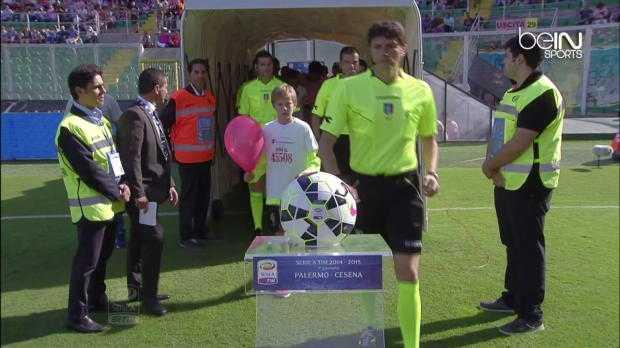 Serie A : Palerme 2-1 Cesena