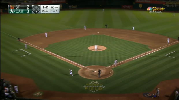 Pence's game-tying RBI double