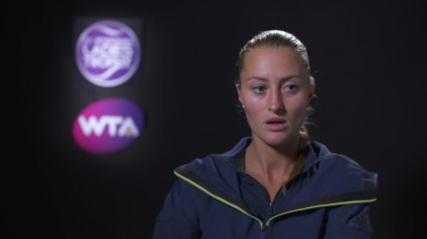 : Finale - Mladenovic - 'Kvitova était sur un nuage'
