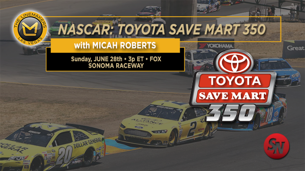 Nascar Toyota Save Mart 350
