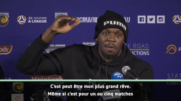 Bolt rêve toujours de Manchester United