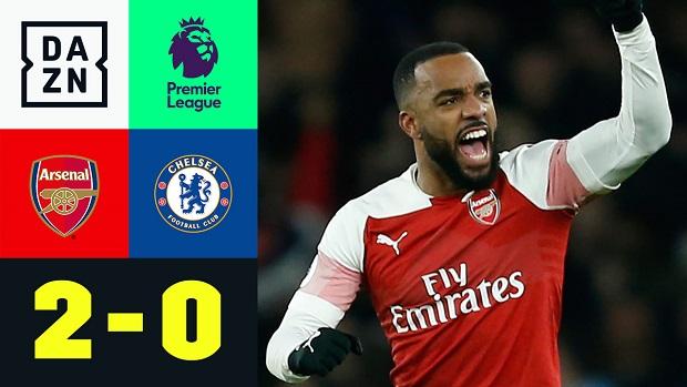 Premier League: Arsenal - Chelsea   DAZN Highlights