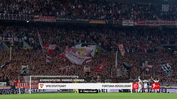 1.Bundesliga:VfB Stuttgart - Fortuna Düsseldorf