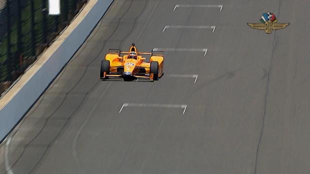 500 millas de Indianápolis - Fernando Alonso muestra buenas sensaciones en pista
