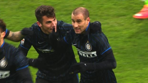 Inter 2-2 Lazio, Giornata 16 Serie A TIM 2014/15