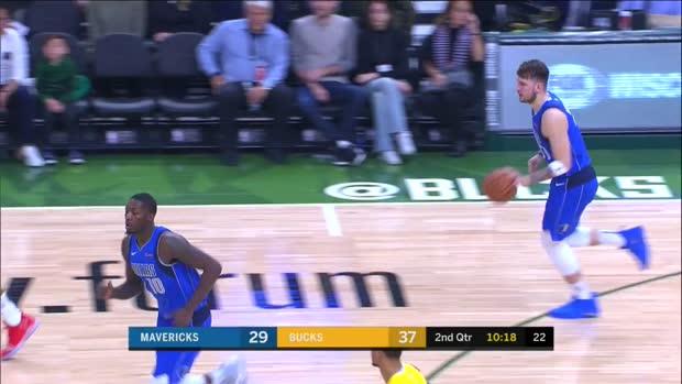 WSC: Luka Doncic Posts 18 points, 10 assists & 11 rebounds vs. Milwaukee Bucks
