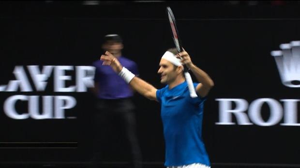 Tennis : Laver Cup - Le meilleur de la 3e et dernière journée