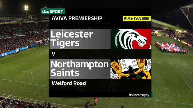 Aviva Premiership - Match Highlights - Leicester Tigers v Northampton Saints