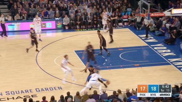 GAME RECAP: Suns 107, Knicks 105