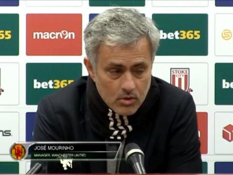 كرة قدم: الدوري الإنكليزي: ستوك لم يخلقْ فرصةً واحدة للتسجيل- مورينيو