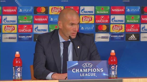 Abwehrprobleme? Zidane: Mache mir keine Sorgen