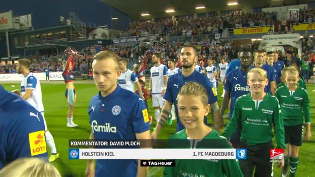 2. Bundesliga: Holstein Kiel - 1. FC Magdeburg | DAZN Highlights