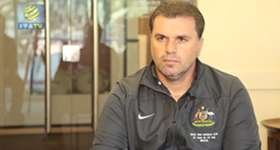 Coach Ange Postecoglou says it will be a tremendous honour for the Socceroos to test themselves against Spain.