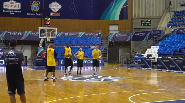 Final Four: El Tenerife se prepara para la final