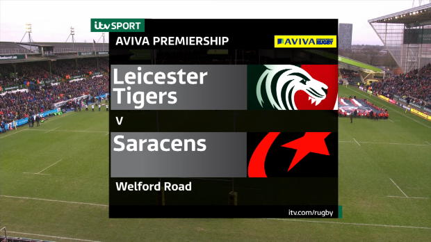 Aviva Premiership - Match Highlights:Leicester Tigers v Saracens