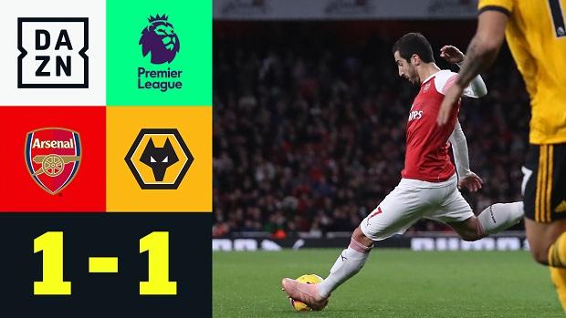 Premier League: Arsenal - Wolverhampton   DAZN Highlights