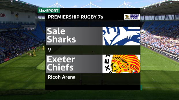 Aviva Premiership - Singha Rugby 7s - Sale Sharks v Exeter Chiefs
