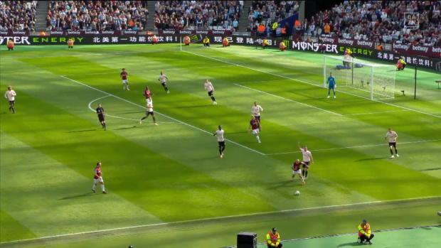 Premier League: West Ham - Man United | DAZN Highlights