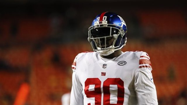 Does trading defensive end Jason Pierre-Paul change the New York Giants' draft strategy?