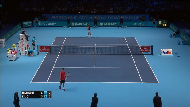 London: Nishikori trotz Pleite im Halbfinale