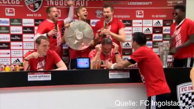 PK-Sturm & Bierdusche: FCI feiert Aufstieg
