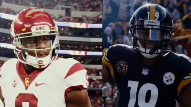 Juju Smith-Schuster morphs from USC standout to NFL stud