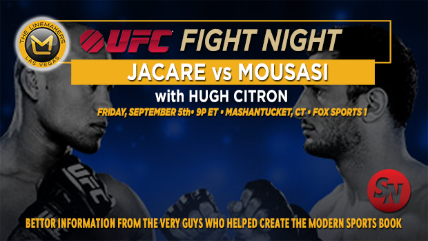 UFC Fight Night Jacare Vs. Mousasi