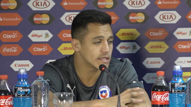 "Copa America: Sanchez: ""Stehen hinter Vidal"""