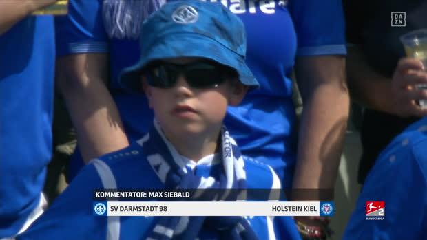 2. Bundesliga: SV Darmstadt 98 - Holstein Kiel   DAZN Highlights
