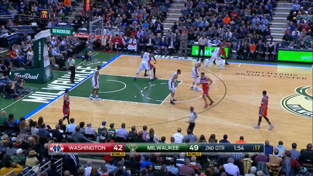Fast Break of the Night: Jabari Parker
